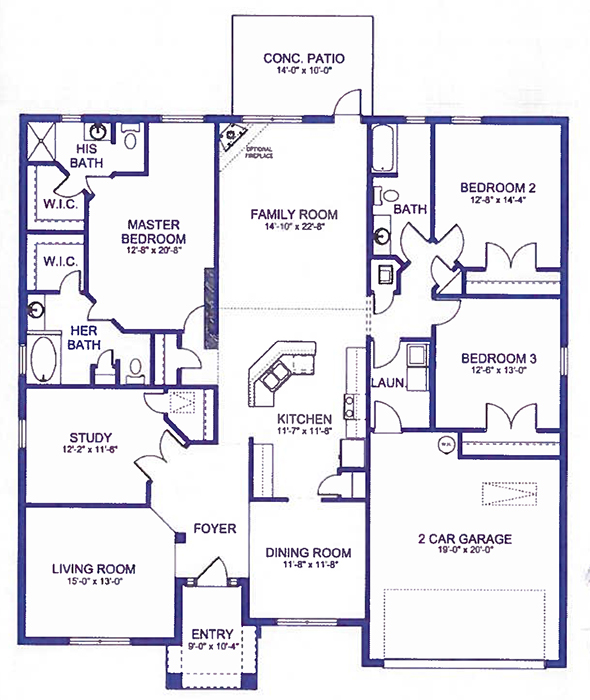 Adams Homes Floor Plans 2320